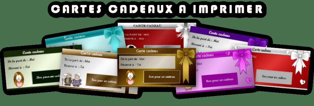 Créer Et Imprimer Gratuitement Des Cartes Cadeaux En Ligne